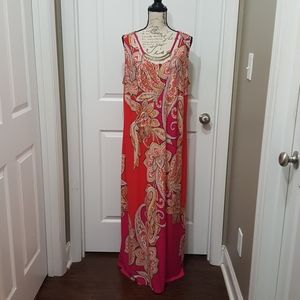 Sandra Darren Summer Dress 2X